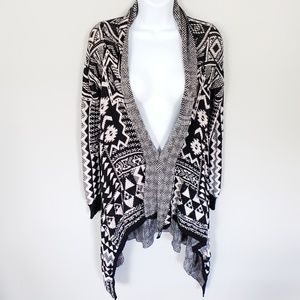 Mossimo Supply Co. Sweaters - Aztec Print Open Front Cardigan by Mossimo